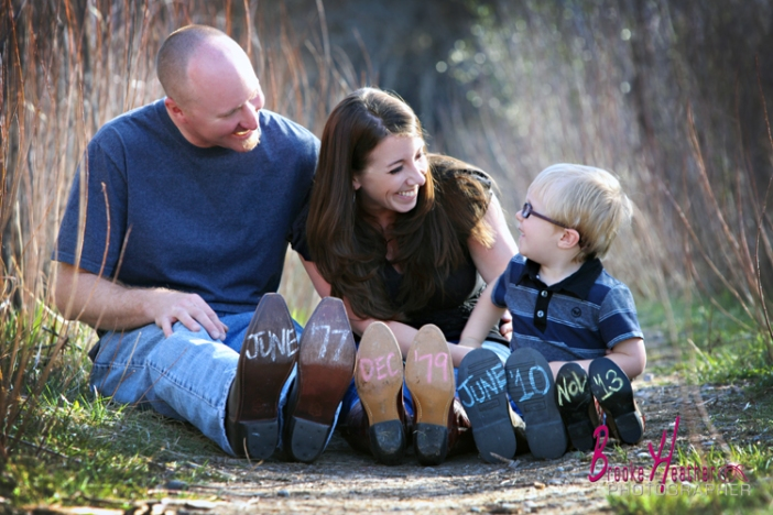 The Moser Family Pregnancey Announcement
